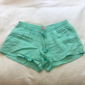 Lilly Pulitzer Linen Shorts